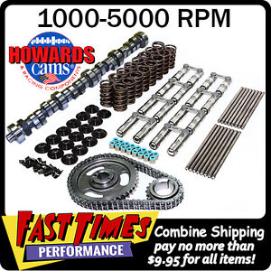 Howard S Ford 351w 266 270 517 528 112 Retro Fit Hyd Roller Cam Camshaft Kit