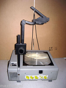 Used Da lite 5000 Portable Overhead Projector Cover Professional Hi output W w