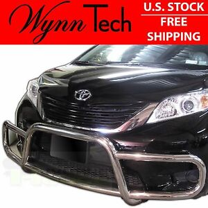 Wynntech Front Runner Bumper Guard Protector For Toyota Sienna 2015 2019 S S
