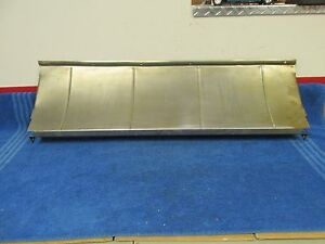 1928 31 Ford Model A Trunk To Bumper Filler Panel New 216