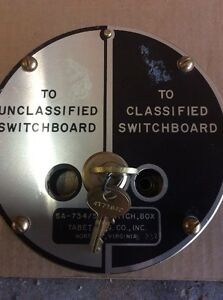 Sa 734 sg Classified To Unclassified Switch Box