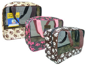 Buy 2 Get 1 Free Pet Carrier Soft Sided Cat Dog Travel Bag 9 X 8 7 X 4 Ad 3