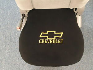 1 Bucket Seat Cover Fits All 2000 18 Chevy Trucks And Suvs With Embroidered Logo
