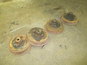 Pierce Arrow 1929 1930 Wire Wheel Brake Drums