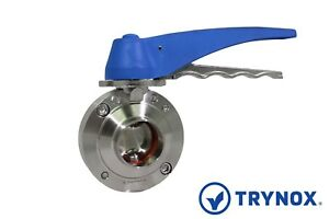 Sms Sanitary Stainless Steel 304 2 Butterfly Valve Trynox