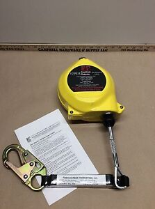 Frenchcreek 25 Galvanized Wire Rope Retractable Lifeline Model Rl25agz