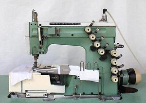 Kansai Special W8102is 3 needle 5 t Picot Coverstitch Industrial Sewing Machine