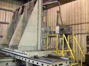 Giddings Lewis Dp5 t Cnc Horizontal Boring Mill
