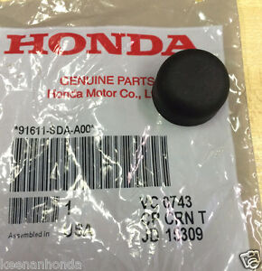 Genuine Oem Honda Wiper Arm Rubber Mounting Nut Cap Cover 91611 Sda A00