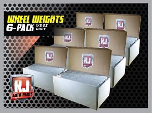6 9 Lb Boxs Wheel Weights 1 2 Oz Stick On Adhesive Tape 1728 Pieces