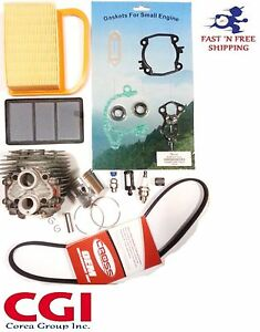 Stihl Ts420 Ts410 Cylinder Kit Overhault Gasket Set Air Filter Drive Belt