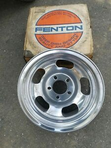 Nos Fenton Gyro Racing Wheel 15 7 Aluminum Slot Chevrolet Gm Ford Pontiac