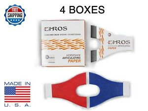 Horseshoe Articulating Paper Red blue Combo 24 Books 288 Sheets Made In Usa