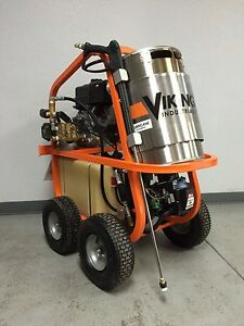 Viking Industrial Systems Hot Water Pressure Washer 3gpm 3500psi