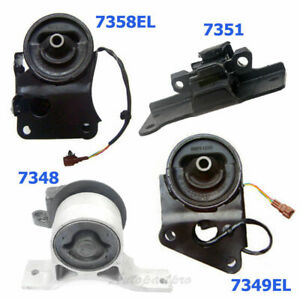 M008 For Nissan Maxima Altima Quest 3 5l Engine Motor Trans Mount Set 4pcs