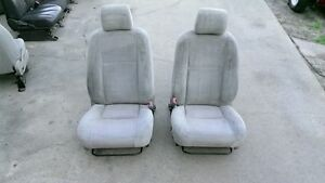Front Seats Toyota Corolla Also See Fx 87 88 05 06 07 08