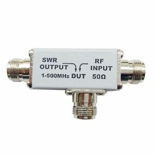 Ayt 3 1 500mhz Reflection Bridge standing wave Vswr Rf Bridge Directional