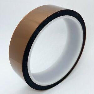 25 Mm X 33 M Gold Kapton tape Polyimide High Temp 1 X 36yds 25mm Us Stock