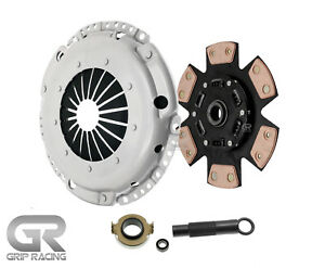 Grip Stage 3 Disc Clutch Kit For 92 93 Acura Integra Gs R B17 Rs Ls Gs B18 500hp