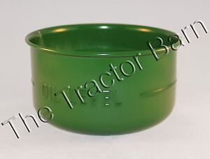 Universal Oil Bath Air Cleaner Cup John Deere Ford Case Mf Oliver 320 330 M B
