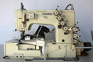 Kansai Special W8102is 3 needle 5 th Picot Coverstitch Industrial Sewing Machine