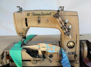 Union Special 57800vz Coverstitch 1 8 Binder Industrial Sewing Machine Head Only