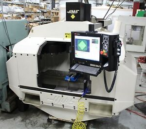 Vmc Haas Vf2 Haas Cnc Machmotion Controller 20 Station Tool Changer
