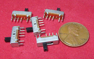 5 Pieces Ysc Ss1301 3 Position Mini Slide Switch Sp3t On on on 300ma 50v Dc Sptt