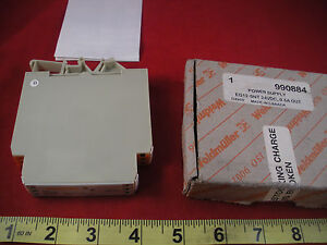Weidmuller Eg12 snt Power Supply 12w 24v Dc 0 5a Out Eg12snt 990884 Nib Nos New