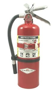 Amerex B500t 5lb Abc Multi purpose Fire Extinguisher With Vehicle Bracket