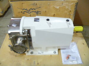 4 Alfa Laval Sx6 190 Tri clamp Rotary Lobe Displacement Pump W Mtrs 2012 New