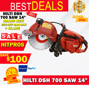 Hilti Dsh 700 Saw 14 Brand New Very Nice Saw L k Fast Shipping