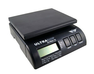 Ultraship 75 34kg Digital Parcel Postal Weighting Scales Scale Post