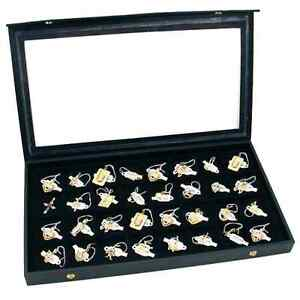 Earring Organizer Classic 32 Section Jewelry Box Case Holder For Earring