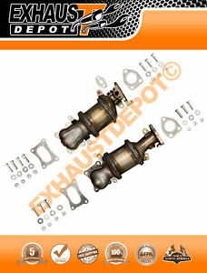 2012 2014 Acura Rdx 3 5l Direct fit Bank 1 Bank 2 Catalytic Converters