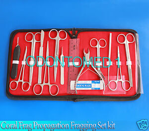 Coral Frag Propagation Fragging Set Kit Diy Hard Soft Live Tools Tanks Ds 861