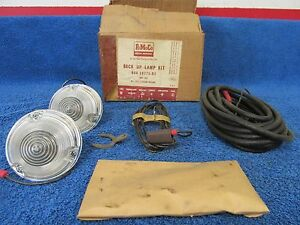 1958 Ford Station Wagon Backup Light Kit Nos Ford 316