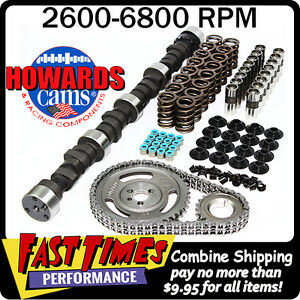 Howard S Sbc Small Block Chevy Solid Flat Tappet 287 295 530 555 104 Cam Kit