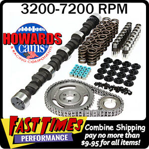Howard S Sbc Small Block Chevy Solid Flat Tappet 295 299 555 555 106 Cam Kit