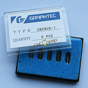 10 X 45 Blades Fit For Graphtec Cb09 Vinyl Cutter Cutting Plotter