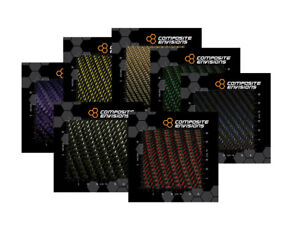 Reflections 2x2 Twill Carbon Fiber Fabric Samples