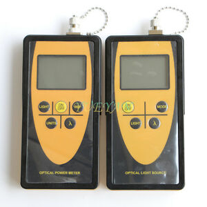 Fiber Optic Tester Tool Optical Power Meter Optical Light Source 1310 1550 Sm