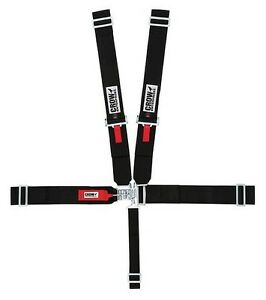 Crow Safety 3 X 3 Harness 5 Point Wrap Around Blk Competition From Radke