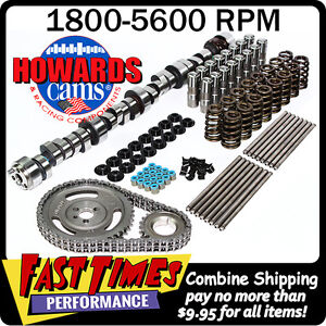Howard S Sbc 305 350 Chevy 278 284 500 510 114 Hyd Roller Camshaft Cam Kit
