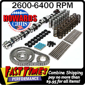 Howard S Sbc 305 350 Chevy 300 306 565 580 110 Hyd Roller Camshaft Cam Kit