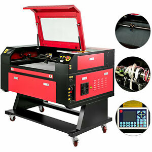 80w Co2 Laser Cutter 700x500mm Engraver Cutting Machine Crafts Usb Port W Stand
