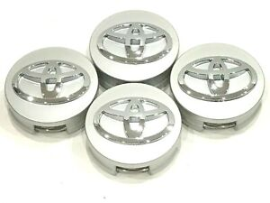 4 Pcs Toyota Wheel Center Hub Cap Silver 62 Mm 2 44 Camry Corolla Avalon