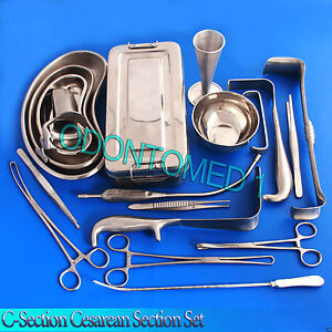 C section Cesarean Section Set Ob gynecology Surgical Instruments 54 Pcs Ds 996