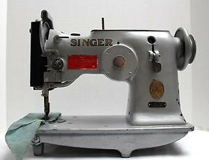 Singer 143w2 Zig Zag Lockstitch Heavy Duty Industrial Sewing Machine Head Only