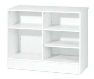 Item Cw4w White 4 Wrap Check Out Counter Register Stand Brand New